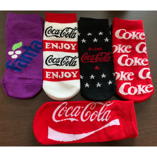 新品*Coca-Cola靴下5足set(ソックス)
