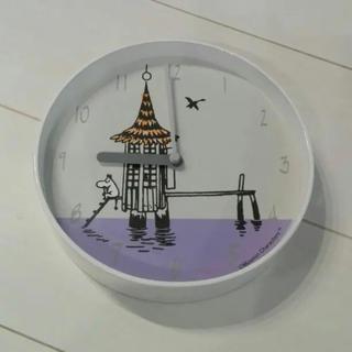 リトルミー(Little Me)の美品 ムーミン 時計 北欧 ミー リサ・ラーソン アルネ・ヤコブセン マリメッコ(掛時計/柱時計)