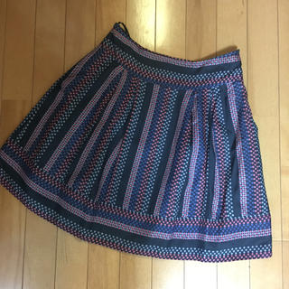 マークバイマークジェイコブス(MARC BY MARC JACOBS)のMARC BY MARC JACOBSのマルチカラードット柄スカート(ひざ丈スカート)