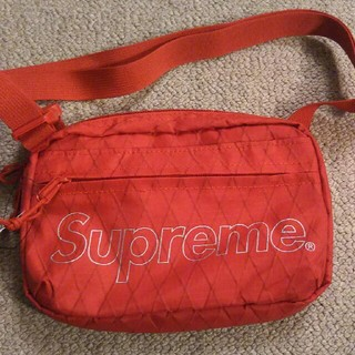 シュプリーム(Supreme)のSupreme shoulder bag red 18fw(ショルダーバッグ)
