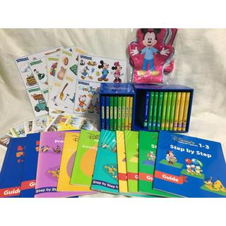 ディズニー(Disney)のディズニー 英語  DWE ステップバイステップ レッツプレイ セット DVD(知育玩具)