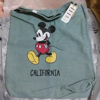 ディズニー(Disney)のミッキーキャンバストートバッグ(トートバッグ)