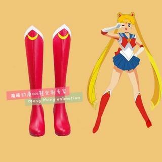 アニメ キャラクター セーラームーン ブーツ 靴 コスプレ コスチューム 衣装(靴/ブーツ)