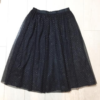 ザラ(ZARA)のZARA チュールスカート(ひざ丈スカート)