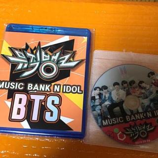 ボウダンショウネンダン(防弾少年団(BTS))のBTS MUSIC BANK N IDOL1-3 Blu-ray DVD (K-POP/アジア)