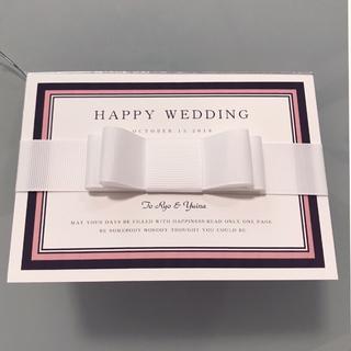 結婚式 招待状 印刷込み(カード/レター/ラッピング)