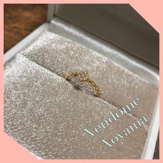 ヴァンドームアオヤマ(Vendome Aoyama)の専用♡ヴァンドーム青山 K18 ダイヤモンド リング(リング(指輪))