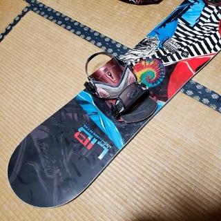 リブテック(LIB TECH)のリブテック スケートバナナ 159w バイン付き 訳あり 格安(ボード)
