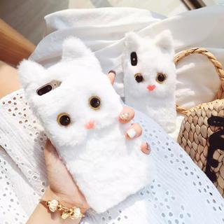 ザラ(ZARA)の新品◼️猫ちゃんiPhoneケース(iPhoneケース)