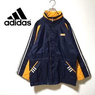 アディダス(adidas)の90s adidas ナイロンジャケット フード着脱式(ナイロンジャケット)