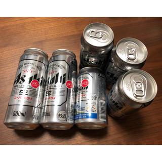 アサヒ(アサヒ)のアサヒ スーパードライ 500ml  2本・350ml  4本(ビール)