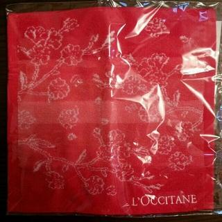 ロクシタン(L'OCCITANE)のロクシタン ハンドタオル(ハンカチ)