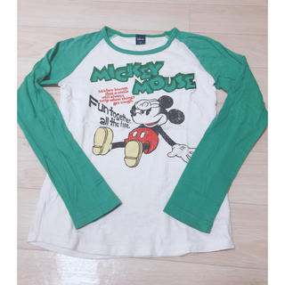 ディズニー(Disney)のディズニー Tシャツ(Tシャツ(長袖/七分))