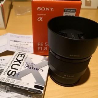 ソニー(SONY)のソニー SEL50F18F  FE 50mm F1.8  Eマウント(レンズ(単焦点))