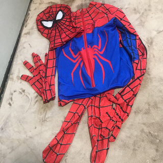 スパイダーマン 大人 コスプレ