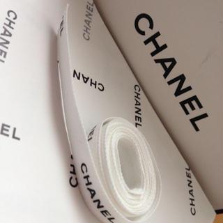 シャネル(CHANEL)のシャネル♡リボン紐(オーダーメイド)