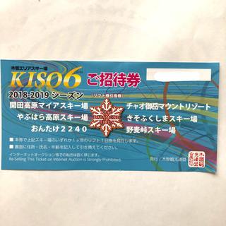 木曽エリアスキー場 リフト券(スキー場)