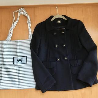 アニヤハインドマーチ(ANYA HINDMARCH)のアニヤハインドマーチ  ウール ジャケット コート 紺 ネイビー 系(その他)