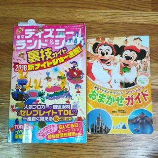 コウダンシャ(講談社)のディズニーランド&シー ガイドブック二冊セット(地図/旅行ガイド)