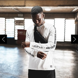 ナイキ(NIKE)の新品 正規品 国内未発売 NIKE F.C. ロングTシャツ ホワイト L(ウェア)