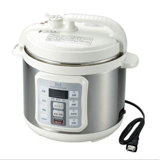 【新品】D&S 家庭用マイコン電気圧力鍋 4.0L(調理機器)