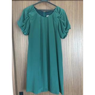 バビロン(BABYLONE)のグリーン ドレス(ひざ丈ワンピース)