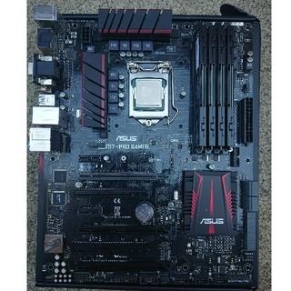 【セット】Core i7 4790K Z97マザー 32GB(PCパーツ)