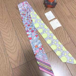 エルメス(Hermes)の正規品エルメス☆ツイリー☆ペルシャ絨毯(バンダナ/スカーフ)