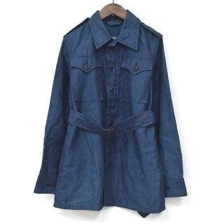 フォーティファイブアール(45R)の45R フォーティファイブアール 藍 インディゴツイード シャツ ジャケット 2(ミリタリージャケット)