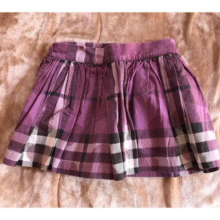 バーバリー(BURBERRY)のバーバリー ハート柄スカート 4Y104(スカート)