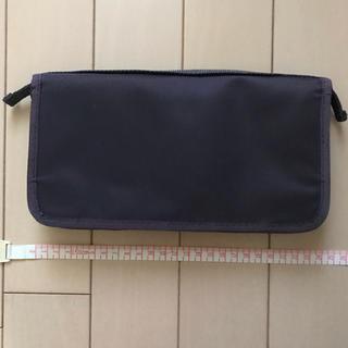 ムジルシリョウヒン(MUJI (無印良品))のパスポートケース (used)(日用品/生活雑貨)