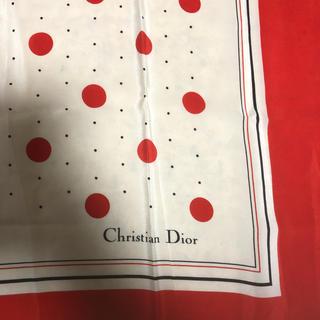 クリスチャンディオール(Christian Dior)のクリスチャン デォール 大判 スカーフ(バンダナ/スカーフ)
