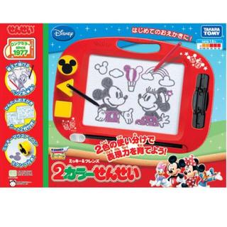 ディズニー(Disney)のミッキー&フレンズ 2カラーせんせい(知育玩具)
