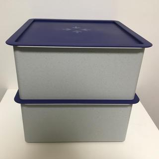 タッパーウェア マルチオーガナイザー ハーフ 2点セット(容器)