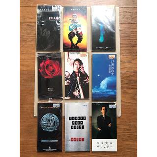 布袋寅泰 8cm CDシングル 9枚セット ジャンク品[中古CD](ポップス/ロック(邦楽))