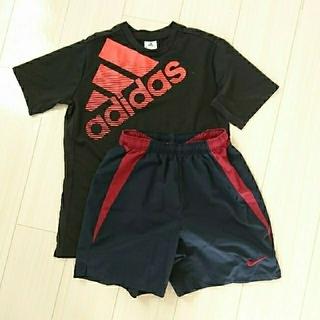 NIKE - NIKEハーフパンツ☆adidasTシャツ