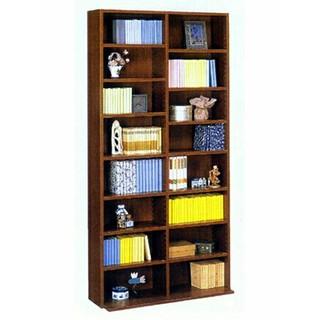 ブラウンカラー 幅90cm 高さ180cm 文庫書棚180 日本製(キッチン収納)