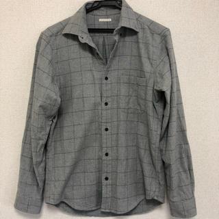 ジーユー(GU)のGU  チェックシャツ    (シャツ/ブラウス(長袖/七分))