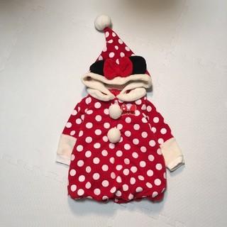 ディズニー(Disney)の値下 ミニー コスチューム アウター クリスマス コート 80  ワンピース(ワンピース)