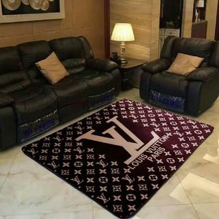 ルイヴィトン(LOUIS VUITTON)の LVカーペット 滑り止め付長方形 室内/寝室対応 150cmx200cm (カーペット)