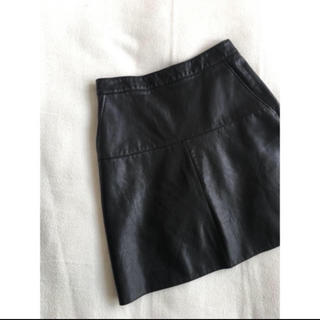ZARA - ZARAレザースカート