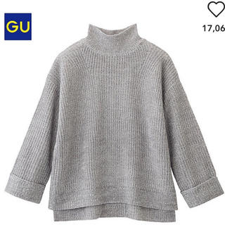 GU - GU 新品未使用 ワイドスリーブセーター(長袖)