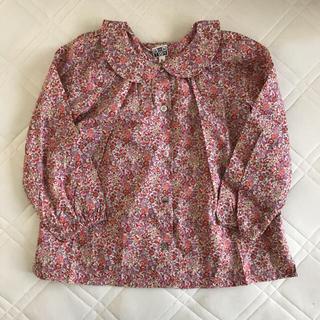 168978b40397d キャラメルベビー チャイルド(Caramel baby child )のBONTON blouse(ブラウス)