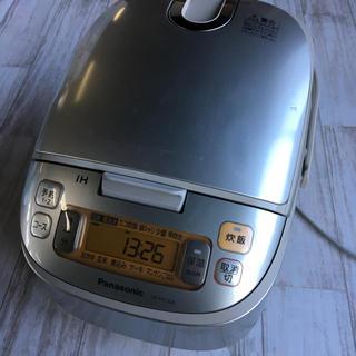 Panasonic - IPanasonic IH炊飯器 5合炊 銀シャリ