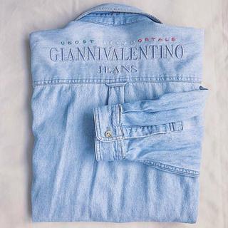 ジャンニバレンチノ(GIANNI VALENTINO)の【希少】VALENTINO デニムシャツ♡(シャツ)