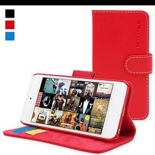 アイポッドタッチ(iPod touch)の英国Snugg社 iPod Touch/第5.第6世代/手帳型 PUレザーケース(モバイルケース/カバー)