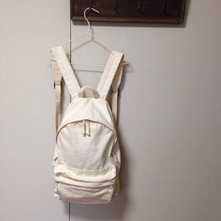 ムジルシリョウヒン(MUJI (無印良品))の無印 帆布 リュック(リュック/バックパック)