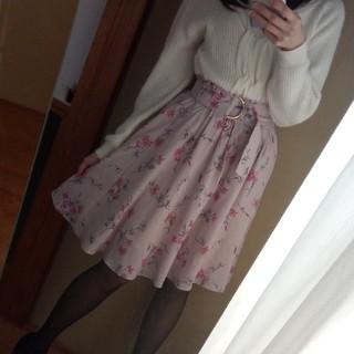 JILLSTUART 花柄 スカート