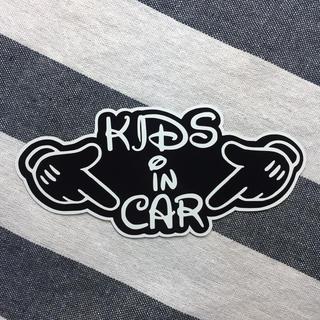 KIDS  IN CAR:キッズインカー  マグネット(車外アクセサリ)