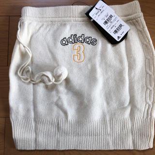アディダス(adidas)の新品未使用タグ付き アディダス スカート ニット(ひざ丈スカート)